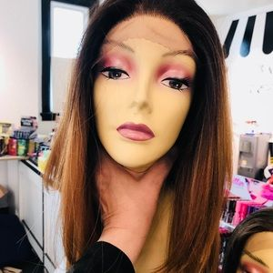 Accessories - Wig 6X6 Freepart Swisslace ombré human hair Blende